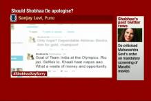 Should Shobhaa De Apologise to India's Rio Contingent?