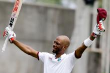 Chase Strikes Maiden Ton As West Indies Draw 2nd Test Against India