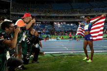 Rio Olympics: Dalilah Muhammad of US Wins Women's 400m Hurdles