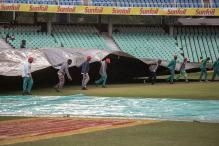 1st Test: Wet Outfield Means Another Day Lost in Durban