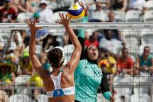 Rio 2016: This Image Of An Egyptian Beach Volleyball Player Wearing Hijab Has Gone Viral