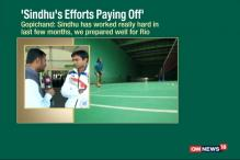 Rio 2016: Sindhu's Efforts Paying Off, Says Coach Gopichand