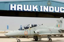 IAF's Hawk Jet Trainer Crashes in West Bengal, Pilots Eject Safely