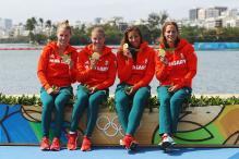 Rio 2016: Hungary Win Four-Woman Kayak 500m Gold