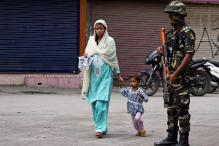 Curfew, Restrictions Remain in Force in Kashmir Valley