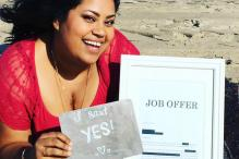 This Woman's Incredible Photo-Shoot With Her Job Offer Has Gone Viral