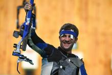 Germany's Henri Junghaenel Wins Men's 50m Rifle Prone Gold