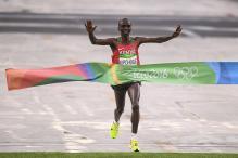 Rio 2016: Kenya's Eliud Kipchoge Wins Men's Marathon