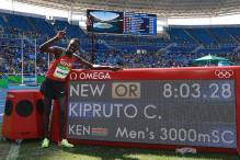 Rio 2016: Kenya's Conseslus Kipruto Wins Men's 3000m Steeplechase Gold