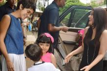 Azad Khan Greeting Aaradhya Is the Cutest Thing You Will See Today