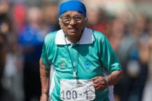 India's 100-Year-Old Runner, Man Kaur, Bags Gold Medal At American Masters Games
