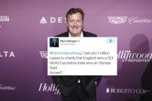 Piers Morgan Bet a Million on India Winning Gold and Indian Twitter Owned Him