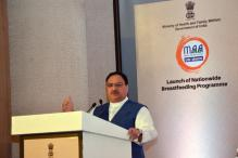 Nadda Launches Nationwide Breast Feeding Programme