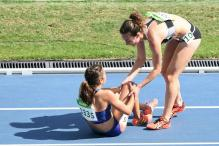 Rio 2016: Olympic Runners Help Each Other Mid-Race After Collision