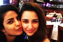 Parineeti Chopra Spends Time With Sister Priyanka While Touring With the Dream Team