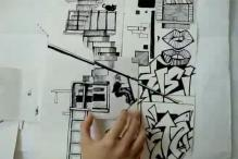 This Artist Found an Epic Way to Illustrate Parkour With Just Pen and Paper
