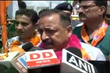 Will Hoist Tricolour in Pakistan Occupied Kashmir: Jitendra Singh