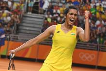PV Sindhu Receives Rs 3 Crore Cheque From Andhra Pradesh Government