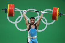 Kazakhstan's Nijat Rahimov Lifts World Record for Men's 77kg