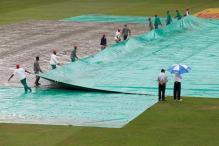 1st Test: Wet Outfield Wipes Out Day Three of South Africa-New Zealand Test