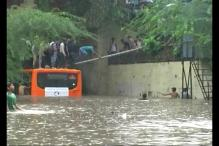 Heavy Rains Hit Transport Networks Across Delhi