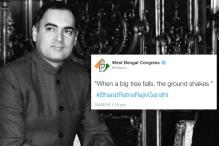 Bengal Congress Tweets, Then Deletes Rajiv Gandhi's Controversial Quote