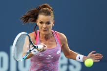 Top-Seed Agnieszka Radwanska Advances at Connecticut Open