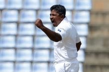 Rangana Herath Takes Hat-trick Against Australia