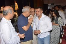 Salman Khan, Sonam Kapoor Attend Rajjat Barjatya's Prayer Meet