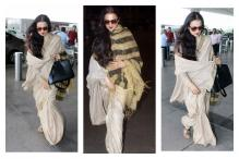 Actress Rekha Knows How to Travel in Style