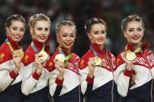Rio 2016: Russia Win Fifth group All-Around Gold in Rhythmic Gymnastics