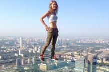 Russian Girl Takes Riskiest Selfies On Skyscrapers