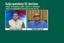 Supreme Court's Order to BCCI Not Binding: Justice Katju
