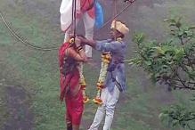 Love Is Literally In the Air: Kolhapur Couple Gets Married 90m Above Ground