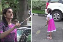 Sindhu Playing Badminton With This 7-Year-Old Is The Sweetest Thing