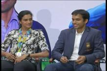 Sindhu, Gopichand Felicitated by Maharashtra Badminton Association