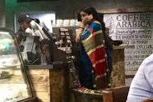 Smriti Irani Walks Into A Cafe In Delhi Without The Fuss Of An Entourage