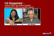 Watch: Soli Sorabjee Backs CJI TS Thakur's Comments on PM Modi