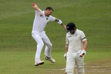 1st Test: Steyn Bags New Zealand Openers Before Rain Ends Play Early