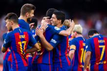 Luis Suarez Hits Hat-Trick as Barcelona Thump Real Betis 6-2