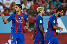 Luis Suarez Gives Barcelona Edge in Super Cup