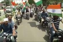 Watch:BJP's Power Minister Piyush Goel's Tiranga Bike Rally Sans Helmets