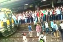 Commuters Block Railway Track in Thane Over Delay in Train Services