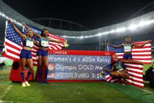 Rio 2016: US Women Defend 4x400m Relay Crown, Sixth Gold for Felix