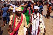 Krishna Pushkaram Festival Begins in Vijayawada, Thousands Take Holy Dip