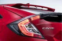 Honda Civic Hatchback Teased Ahead of Paris Motor Show Reveal