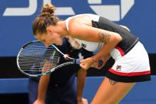 Tattooed And Very Tall, Karolina Pliskova Stands Out at US Open