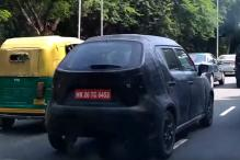 Maruti Suzuki Ignis Spotted On Delhi Roads