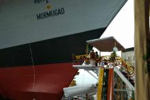 'Mormugao' Warship of Visakhapatnam Class Launched in Mumbai