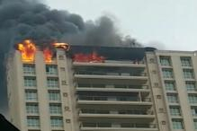 Fire Breaks Out at Mumbai High-Rise Building